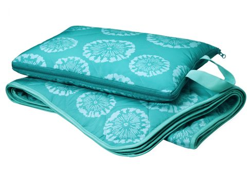 Solera Picnic Blanket Medallion in Turquoise