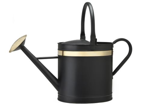 Smith and Hawken Black Watering Can