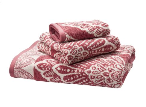 Target Home Safari Jacquard Towels in Rose