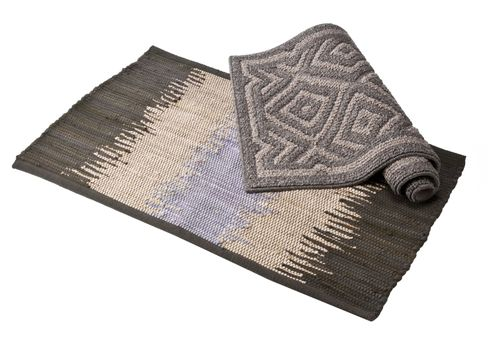 Target Home Ombre Rug and Target Home Geo Rug in Grey