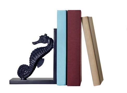 Target Home Navy Blue Seahorse Bookend