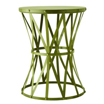 Target Home Metal Accent Table in Green