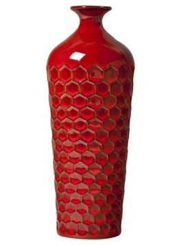 Target Home Glazed Vase in Red