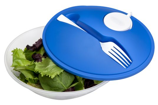Personal Salad Set in Blue
