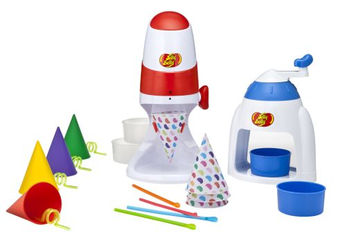 Jelly Belly Silicone Sno-Cone Cups, Jelly Belly Sno-Cone Maker, Jelly Belly Ice Shaver