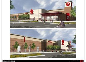 Holly Springs N.C. Store Rendering