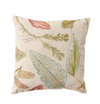 Vine Print Toss Pillow