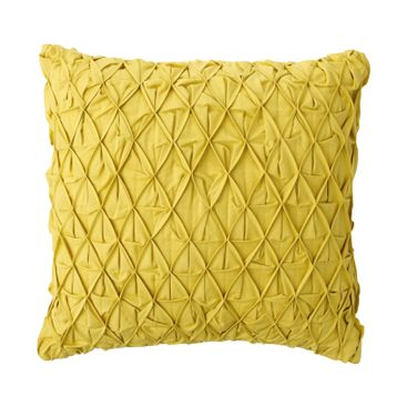 Pintuck Gold Toss Pillows