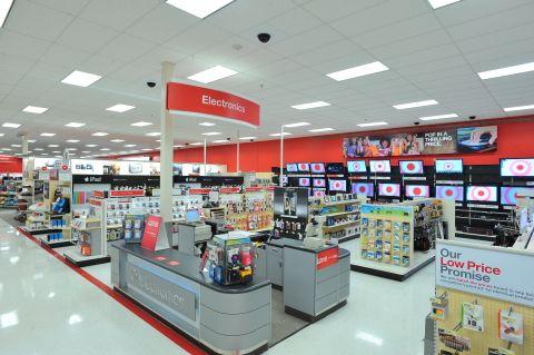 Target Electronics Department Image