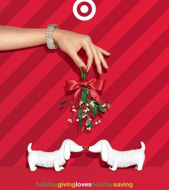 Target Holiday Catalog Cover
