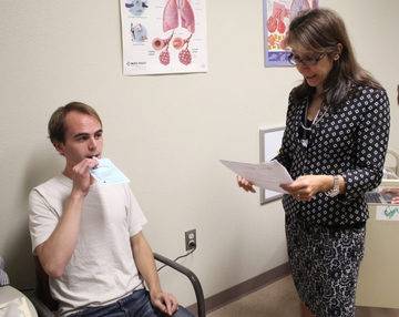 Cystic fibrosis clinical trial