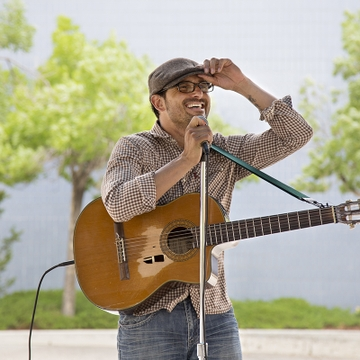 Rock and blues artist Keith Sanchez