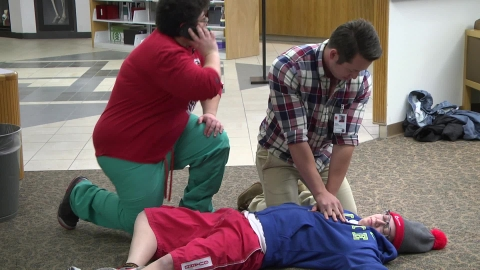CPR drills prepare HSC community to jump into action