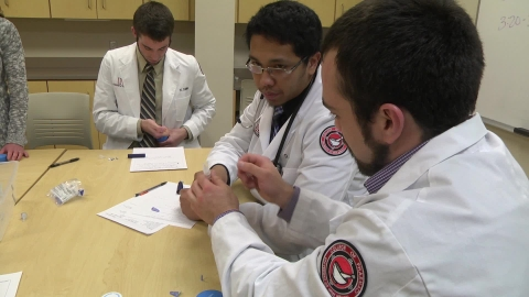 Labs prep pharmacy students for the real world