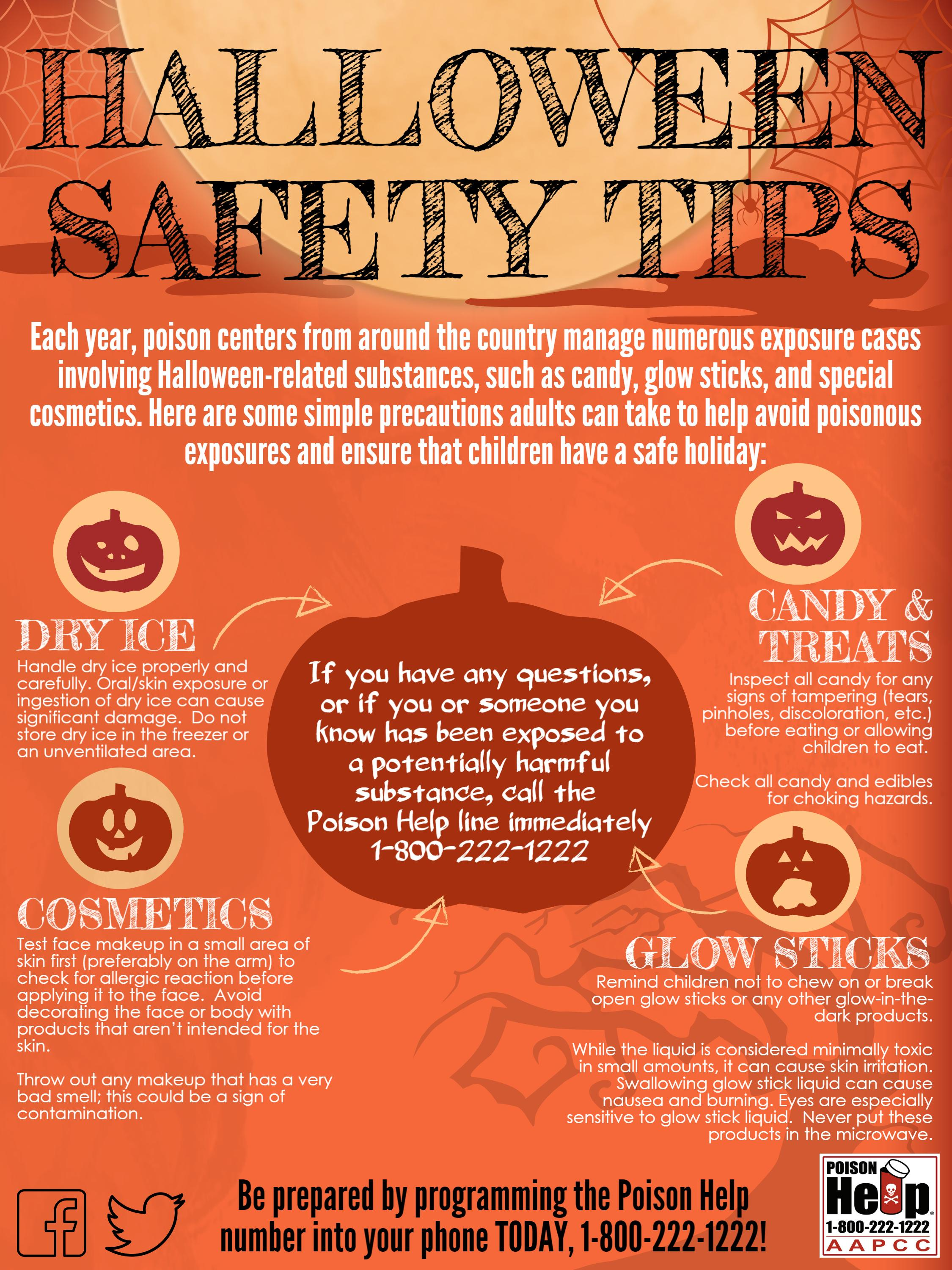 nm poison center offers halloween safety tips unm health sciences center