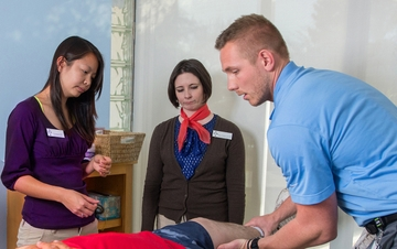 UNM Physical Therapy Students