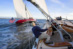 sailing 12m weatherly_credit Onne van der Wal