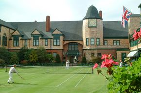 International Tennis Hall of Fame lawn