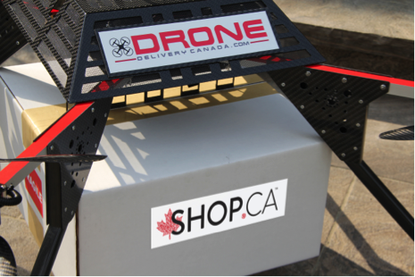 SHOP.CA pilots drone delivery in Canada with Drone Delivery Canada