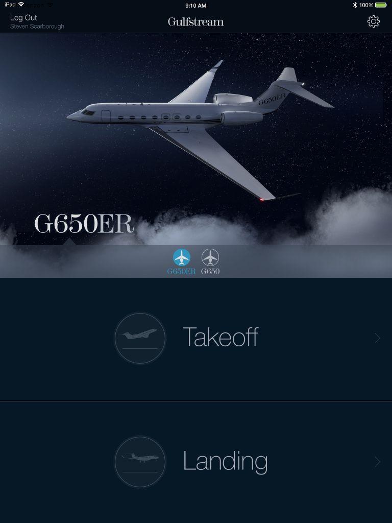 Gulfstream Performance App