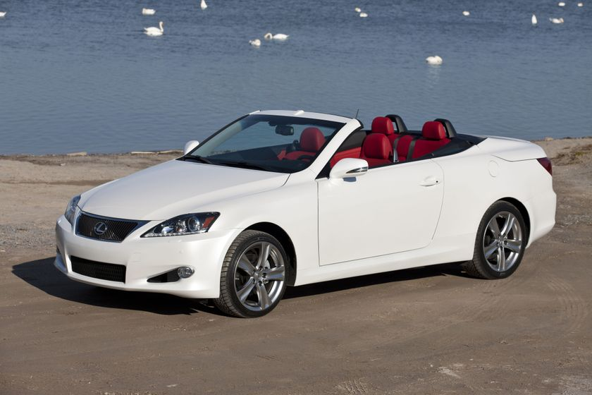 The 2012 Lexus IS C Hardtop Coupe-Convertible Never Looked ...