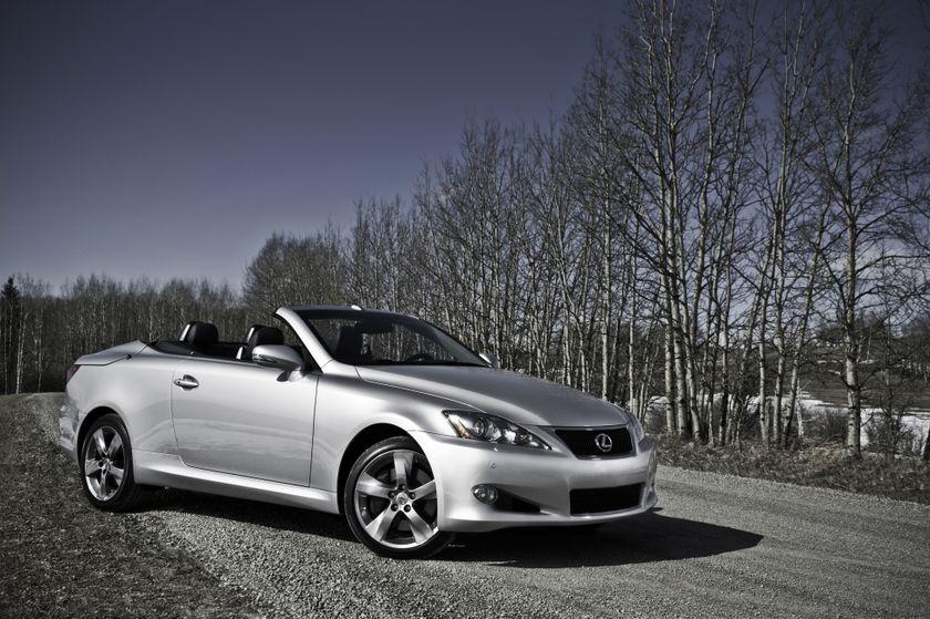 Sleek Sport Coupe Meets Elegant Convertible: The 2015 Lexus IS C