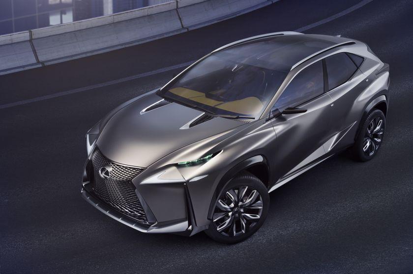 Lexus Lf Nx >> Lexus Lf Nx Turbo Advanced Crossover Concept Lexus Canada