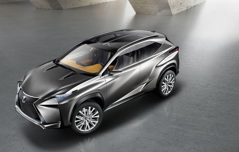 Lexus Lf Nx >> Lexus Lf Nx Advanced Crossover Concept Lexus Canada
