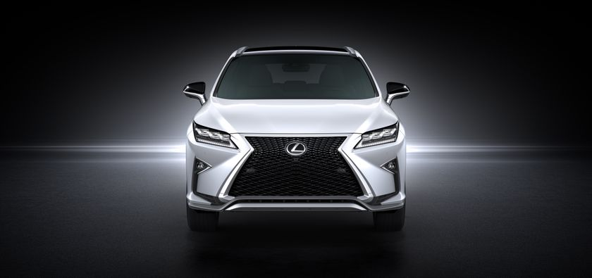 The All-New 2016 Lexus RX Makes its Global Debut at the New York International Auto Show