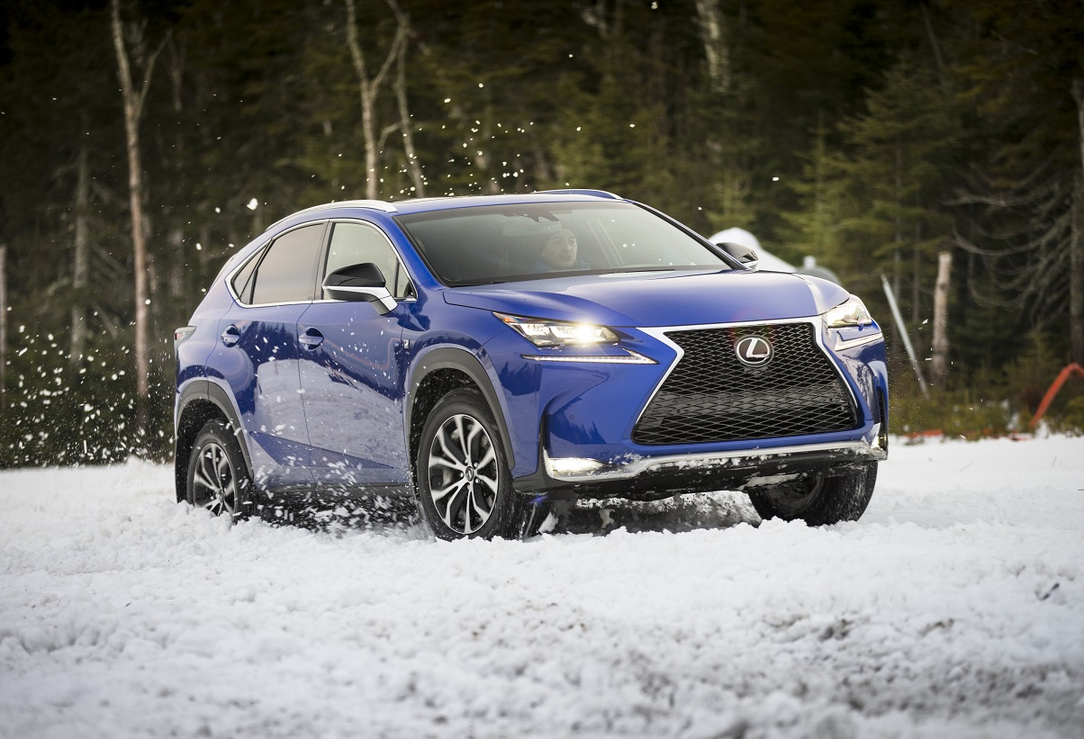 Style and power: the 2017 Lexus NX series luxury compact SUV