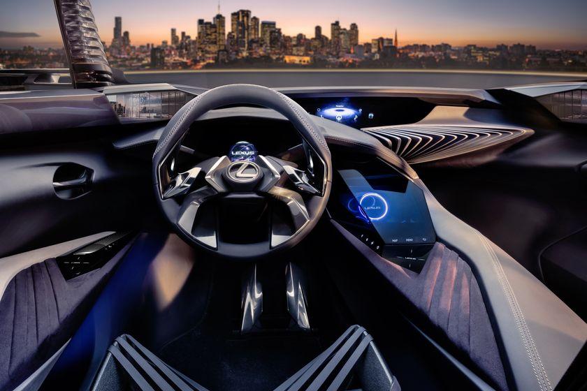 Lexus UX Concept Dashboard