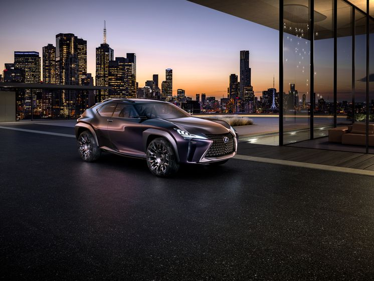 Lexus UX Concept 2016 - Paris Motor Show - 001