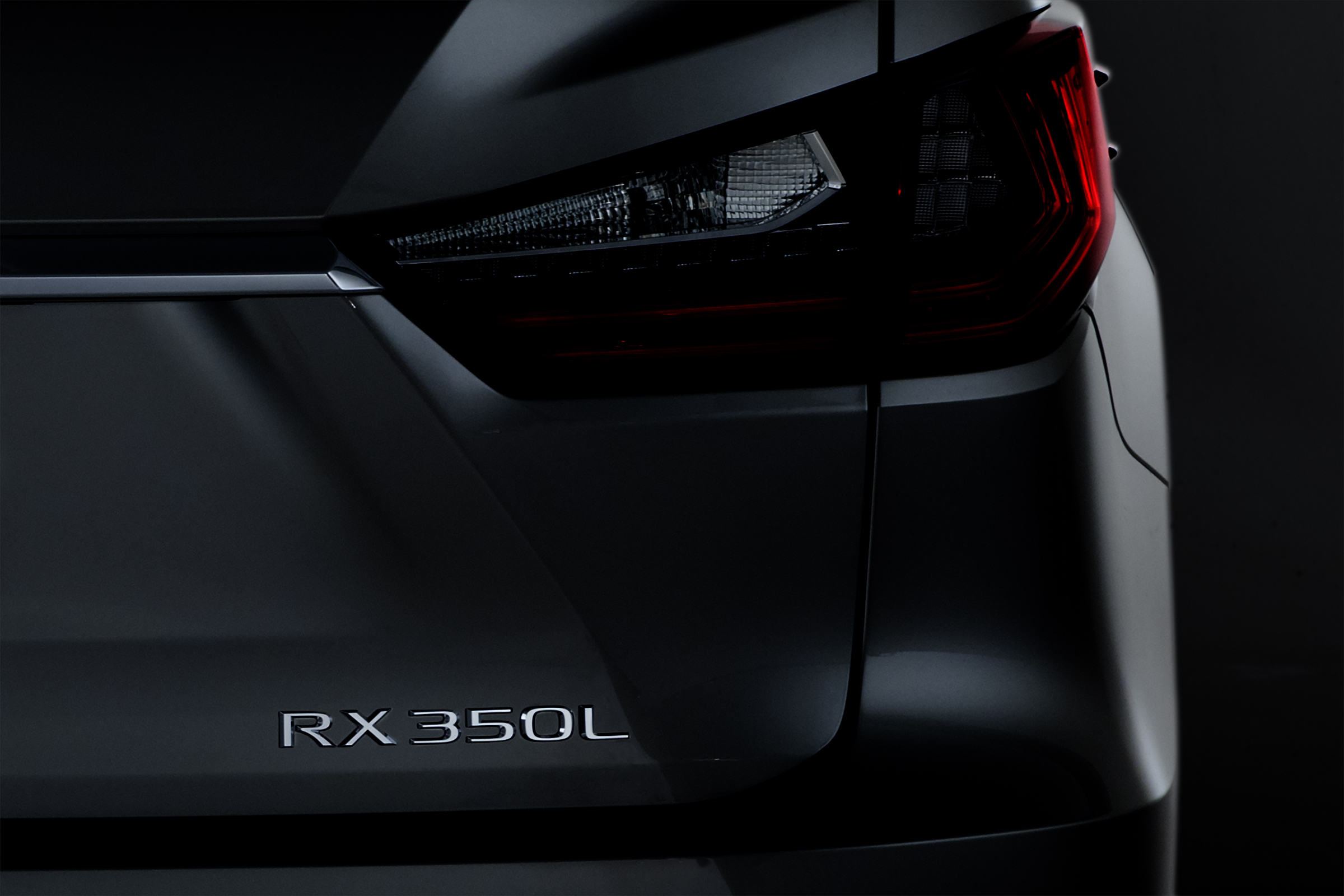 The Power of Three: All-new 3-row Lexus RX 350L to Debut at the 2017 Los Angeles Auto Show