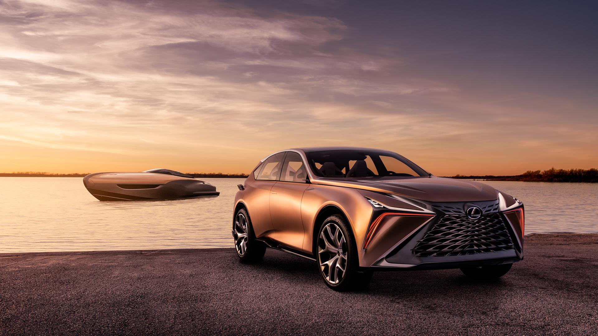 Le concept de yacht de sport Lexus remporte le prix spécial au salon nautique international du Japon