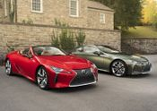 Lexus LC Coupe and Convertible