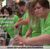 CenturyLink Food Drive