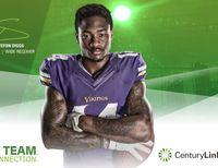 Stefon Diggs, Minnesota Vikings wide receiver