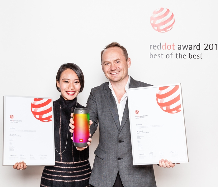HARMAN wins prestigious 'Best of the Best' at Red Dot Communication Design Awards