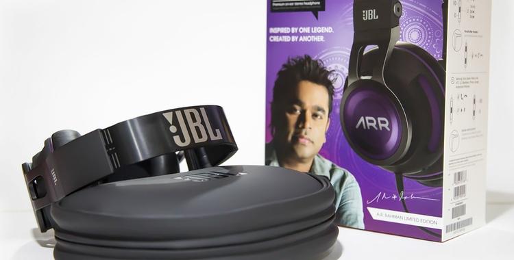 A.R.Rahman JBL Raaga Synchros Headphones 1