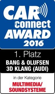 CarConnectAward2016_Soundsysteme_BangOlufsen