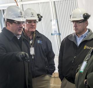 Rep. Steven Palazzo Visits Newport News Shipbuilding
