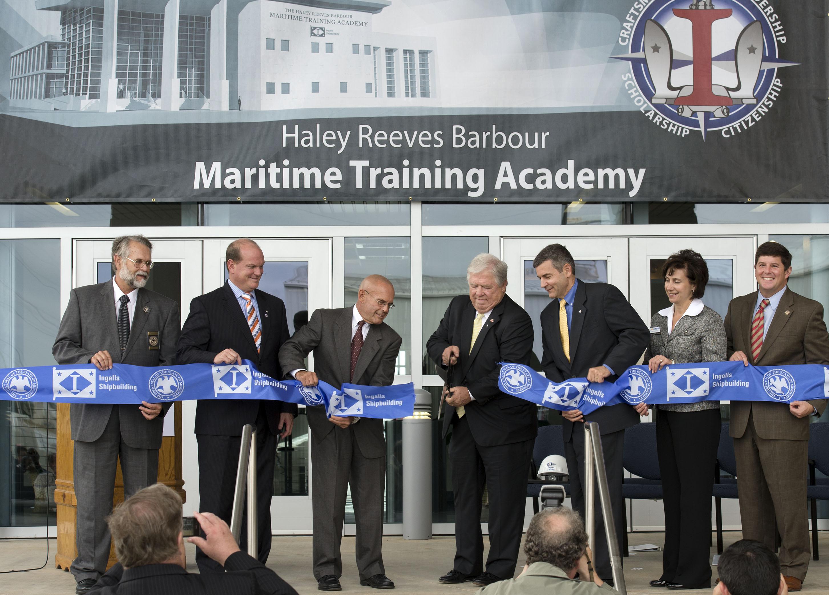 Maritime Training Academy Opening