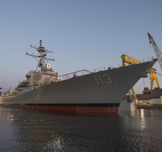 John Finn (DDG 113) Launched