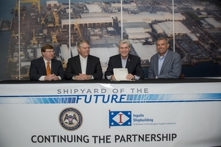 """Shipyard of the Future"" Bill Signed"