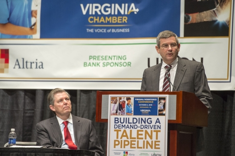 Mike Petters Addresses the Virginia Workforce Conference