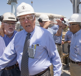 Rep. Steny Hoyer Visits Newport News Shipbuilding