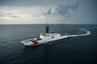 The National Security Cutter Munro completed builder's sea trials earlier this month.
