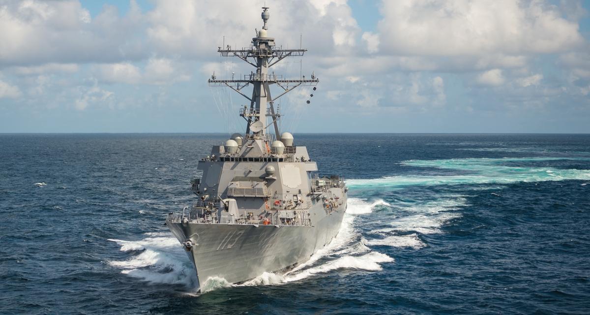 Ingalls Shipbuilding Completes First Set of Builder's Trials for Destroyer John Finn (DDG 113)
