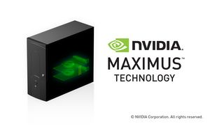 NVIDIA Maximus-powered workstation