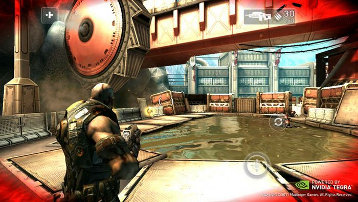 Shadowgun <br><br> Tegra 3 provides the fastest, highest-quality gaming, including new Tegra 3-optimized Tegra Zone games such as Shadowgun, Riptide GP, Bladeslinger and Sprinkle.